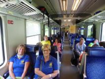 Reise mit der Bahn nach Graz am Donnerstag Morgen
