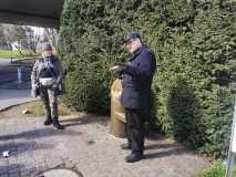 Herr Gonelli unser kompetenter Wasserversorgungs-Führer