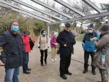 Herr Gonelli mit unseren TeilnehmerInnen